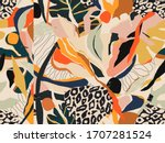 modern colorful abstract... | Shutterstock .eps vector #1707281524
