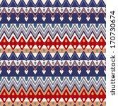ethnic zigzag pattern  seamless ... | Shutterstock .eps vector #170730674