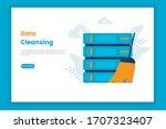 data cleansing illustration...