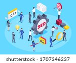 isometric vector image on a...   Shutterstock .eps vector #1707346237