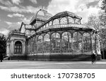 crystal palace in retiro park... | Shutterstock . vector #170738705