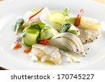 ceviche salad | Shutterstock . vector #170745227