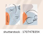 contemporary continuous one... | Shutterstock .eps vector #1707478354