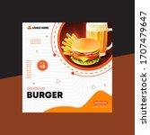 Burger Web Banner   Social...
