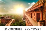 agra fort  is a monument   a... | Shutterstock . vector #170749394
