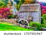 The Landmark Dexter Grist Mill...