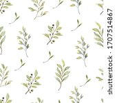 beautiful seamless pattern with ... | Shutterstock . vector #1707514867