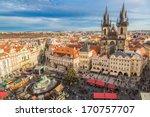 Prague   December 21  Old Town...