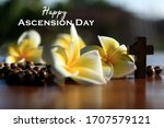 Happy Ascension Day Concept...