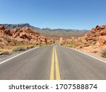 Scenic Road Through Valley Of...