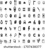 abstract gray colour web design ... | Shutterstock .eps vector #1707638377
