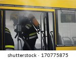 Firefighter Trying To Control...