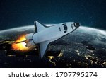 Rocket Launch Outer Space...