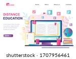 Distance Education Landing Page ...