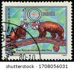 Gdr   Circa 1980  Stamp 10 East ...