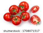 Tomatoes Isolated. Tomato...