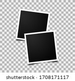 realistic photo frames. images... | Shutterstock .eps vector #1708171117