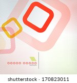colorful square geometric shape ...