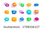 approved  checkmark box and...   Shutterstock .eps vector #1708236127