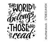 motivation lettering quote... | Shutterstock .eps vector #1708314454
