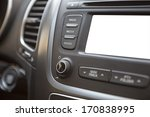 vehicle dashboard with isolated ... | Shutterstock . vector #170838995