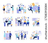 effective management.... | Shutterstock . vector #1708393084
