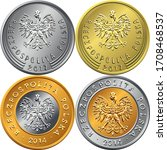 Vector Set Of Obverse Polish...