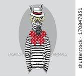 Hand Drawn Fashion Illustratio...