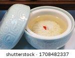 Chrysanthemum Tofu Soup  A...