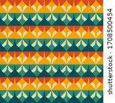 retro color geometric seamless...   Shutterstock .eps vector #1708500454