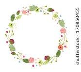 flower vector illustration.... | Shutterstock .eps vector #170850455