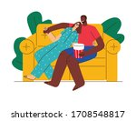 colored vector flat style... | Shutterstock .eps vector #1708548817