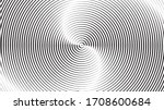 radiating lines in circle form .... | Shutterstock .eps vector #1708600684