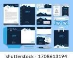 corporate premium identity... | Shutterstock .eps vector #1708613194