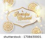 islamic holy month of ramadan... | Shutterstock .eps vector #1708650001