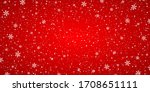 snow red background. christmas...