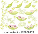 peas in a pod | Shutterstock .eps vector #170868191