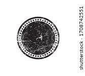 round stamp grunge elements... | Shutterstock .eps vector #1708742551
