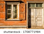 Windows With Open Shutters And...