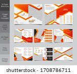 16 pages creative multipurpose... | Shutterstock .eps vector #1708786711