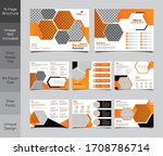 16 pages creative multipurpose... | Shutterstock .eps vector #1708786714