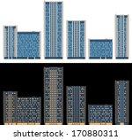 Modern Buildings In Vector  Da...