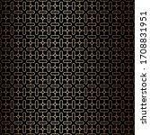 geometric minimal golden and... | Shutterstock .eps vector #1708831951