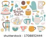 Vector Tea Collection Of...