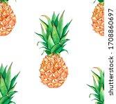 Pineapple Summer Seamless...