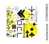 universal trendy geometric...   Shutterstock .eps vector #1708903831