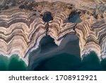Dead Sea Area Of Sink Holes...