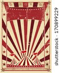 a circus vintage poster for... | Shutterstock . vector #170899229