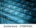 program code and computer... | Shutterstock . vector #170899481
