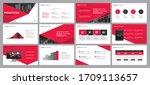 business presentation... | Shutterstock .eps vector #1709113657